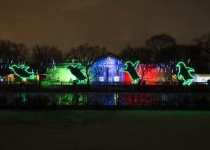 Brookfield Zoo Holiday Magic Lights