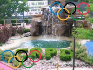 Celebrate the Olympics at Ball Fore!